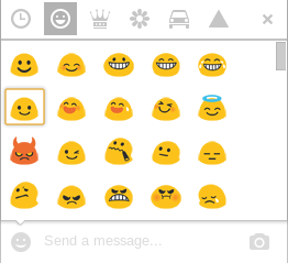 Text smileys